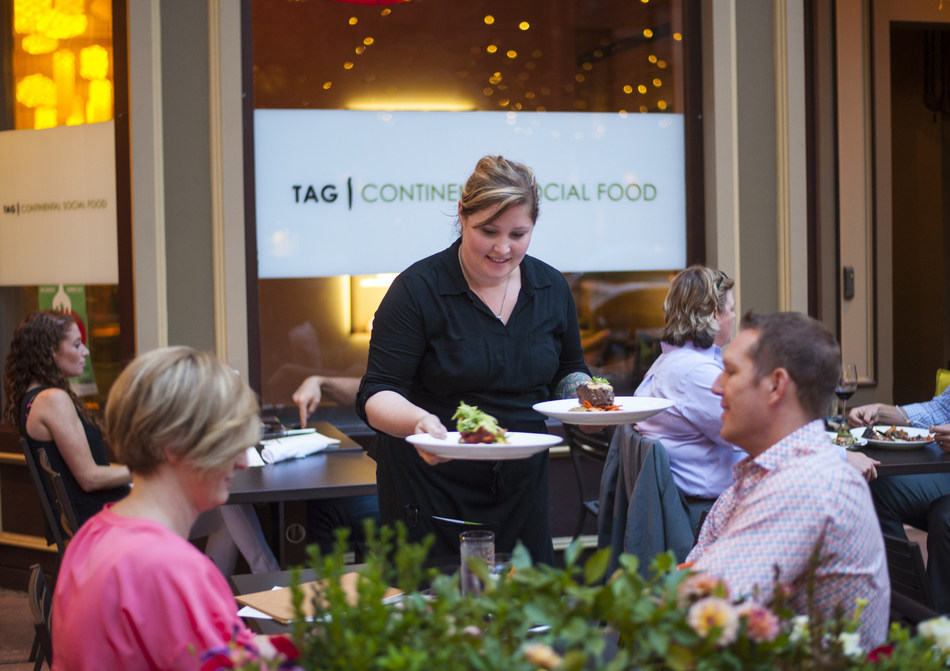 Denver Restaurant Week runs from February 24 - March 5, 2017; the celebration of Denver's culinary scene is just one of many cultural events in The Mile High City this spring. Credit: Evan Semon
