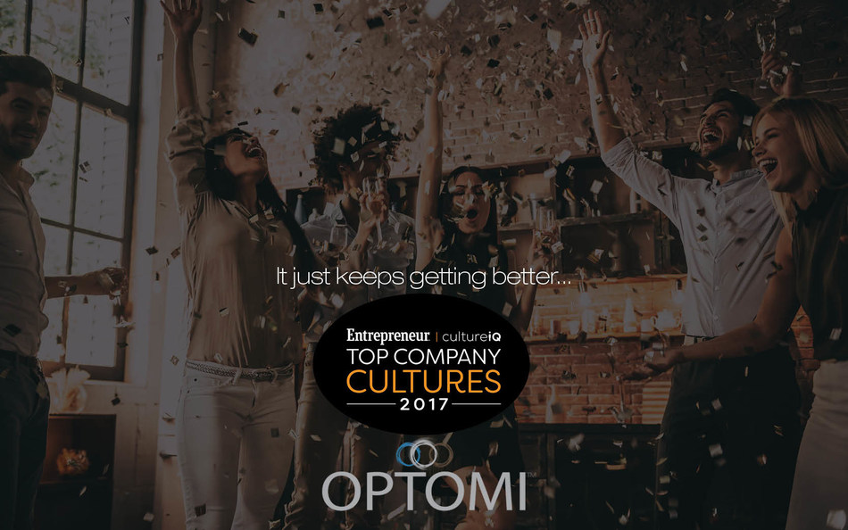 Optomi honored as a company with exceptional culture