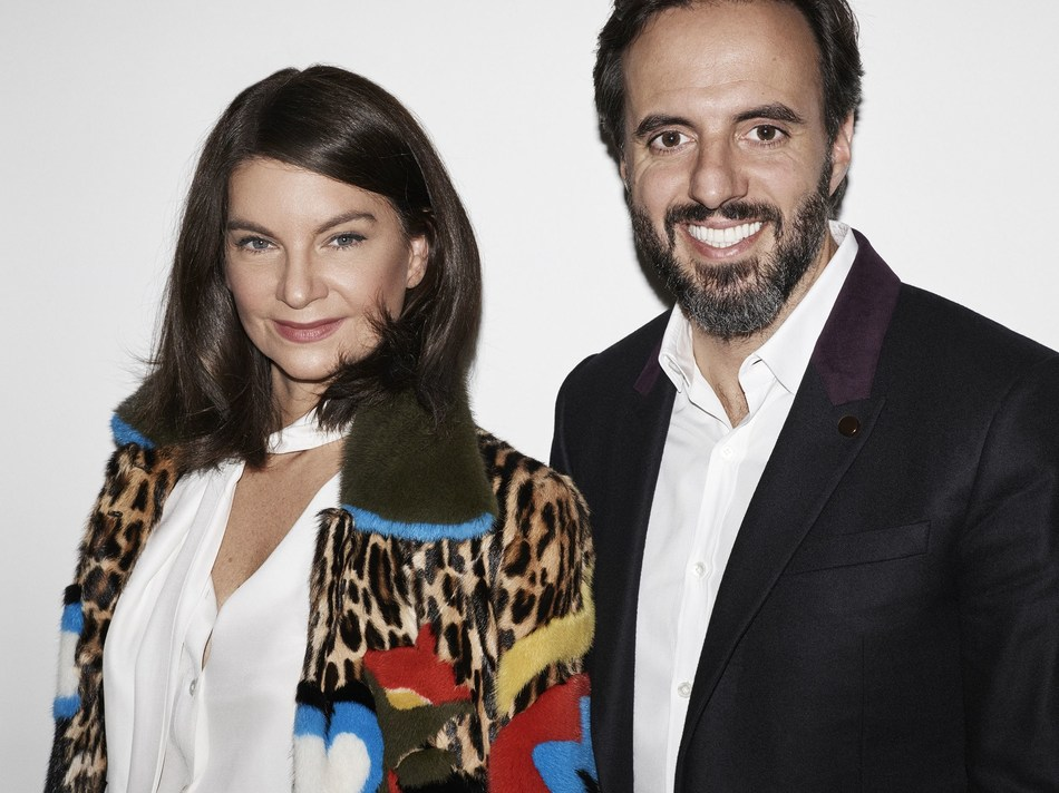 Dame Natalie Massenet Joins Farfetch (PRNewsFoto/Farfetch Group)