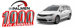 Customers can find deals on new and used vehicles during the Palmen 1000 Sales Event at Palmen Motors.