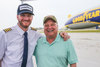 Goodyear Hands Dale Earnhardt Jr. Keys to Goodyear Blimp to Celebrate His Return to Racing