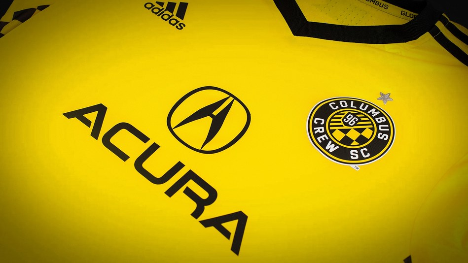 Acura Named Jersey Sponsor of Major League Soccer's Columbus Crew SC