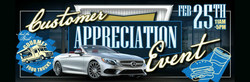 Mercedes-Benz of Scottsdale presents customer appreciation event Feb. 25.