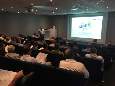 GCL hosted workshop in South Africa with its distributor Mustek