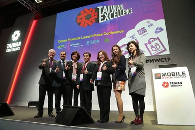 Taiwan Excellence Presents the Taiwanese Companies Acer, Advantech, D-Link, and IEI Integration Latest Innovative Products at Mobile World Congress 2017