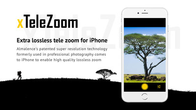 xTeleZoom enables high quality zoom on the iPhone