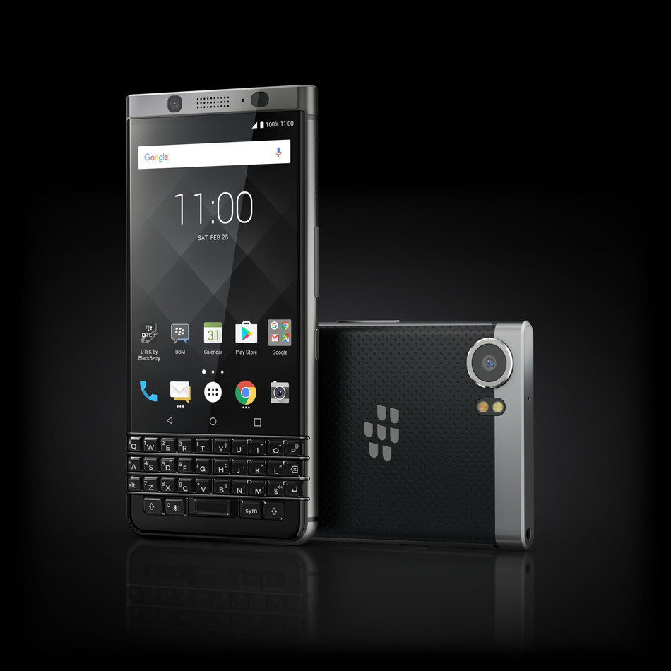 BlackBerry KEYone (PRNewsFoto/TCL Communication Technology)