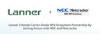 Lanner Electronics Inc. Extends Carrier-Grade NFV Ecosystem Partnership by Joining Forces with NEC and Netcracker