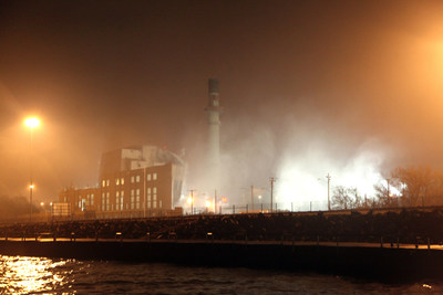 FirstEnergy completes demolition of Lake Shore Power Station in Cleveland, Ohio.