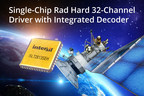 Intersil Announces Single-Chip Rad Hard 32-Channel Driver with Integrated Decoder for Satellite Applications