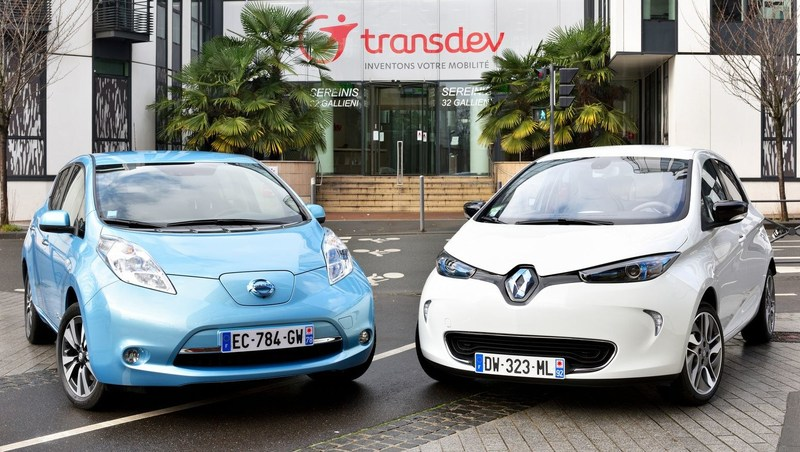 Renault-Nissan Alliance and Transdev to jointly develop driverless vehicle fleet system for future public and on-demand transportation  Name of the Photographer: Luc Perenom Credit: Renault-Nissan Alliance (PRNewsFoto/Renault-Nissan Alliance)