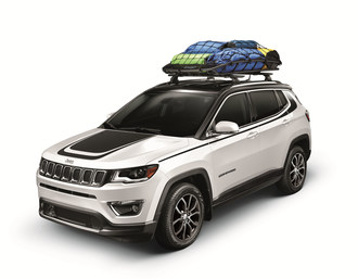 The Mopar brand is offering more than 90 authentic accessories for the all-new Jeep(R) Compass.