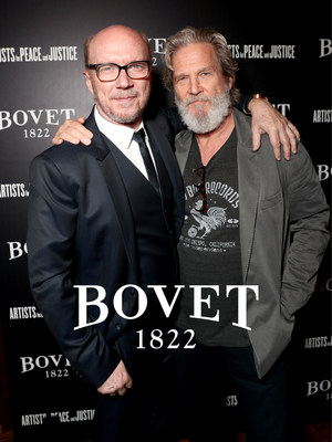 APJ founder and Academy Award(R) winning filmmaker Paul Haggis with Jeff Bridges