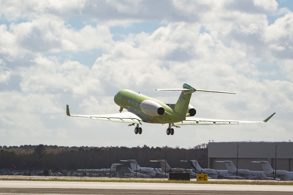 Gulfstream Aerospace Corp. today announced the second Gulfstream G600 completed its first flight. Gulfstream anticipates receiving type certification for the G600 from the Federal Aviation Administration in 2018, with customer deliveries scheduled for later the same year.
