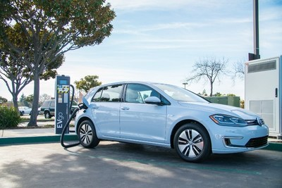 EVgo's High-Power fast charging station in Fremont, California.