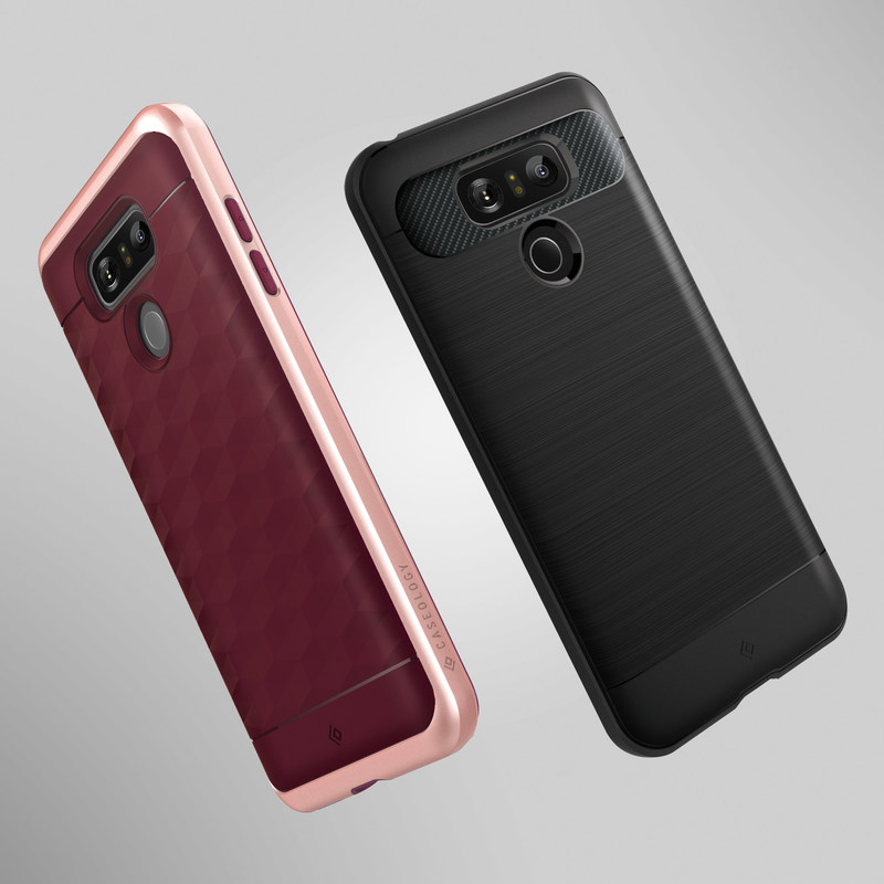 Caseology today announced its popular Parallax and Vault case lines have been redesigned for the LG G6