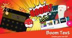 TouchPal présente BoomText sur le salon MWC