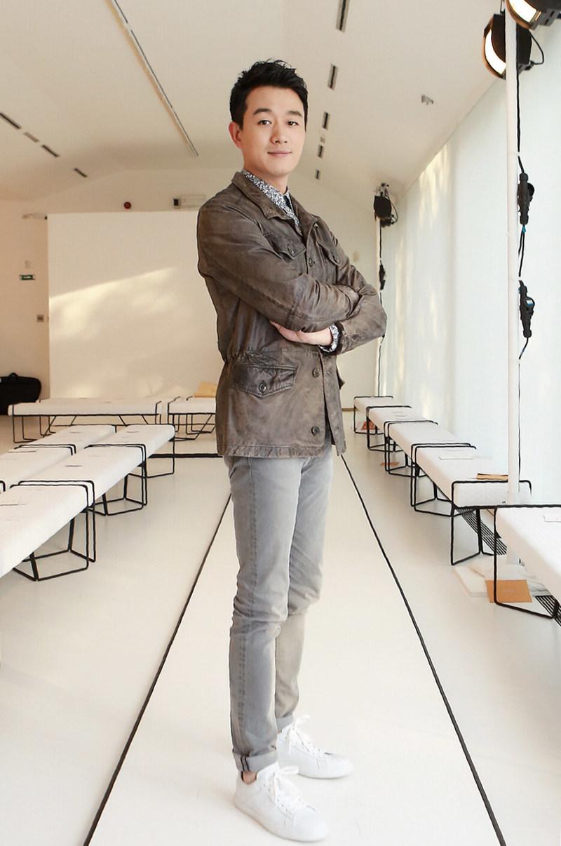Tong Dawei at 2017 Milan Fashion Week