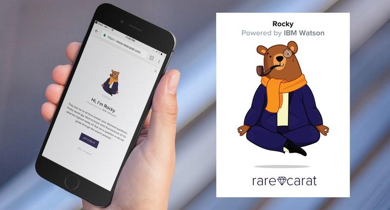 Rare Carat releases Rocky, world's first artificial intelligence jeweler using IBM Watson technology