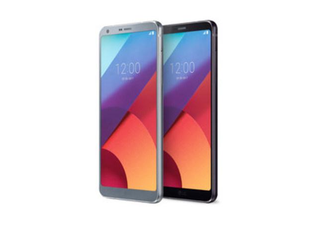 LG Electronics (LG) a dévoilé le G6 aujourd''hui, son plus récent téléphone intelligent doté d''un nouveau format d''image audacieux pour une meilleure expérience cinémato-graphique. (Groupe CNW/LG Electronics Canada)