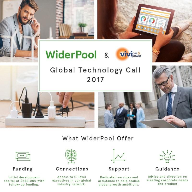 WiderPool & VIVIgas - Customer-Focused Global Technology Call 2017 (PRNewsFoto/WiderPool)