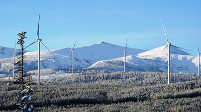 Pattern Development's Meikle Wind Power Facility in British Columbia