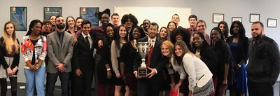 Marketing and sales firm Prestige Business Solutions won the Campaign Cup national sales award for their outstanding results during the fourth quarter, as well as overall performance for the entire year of 2016.