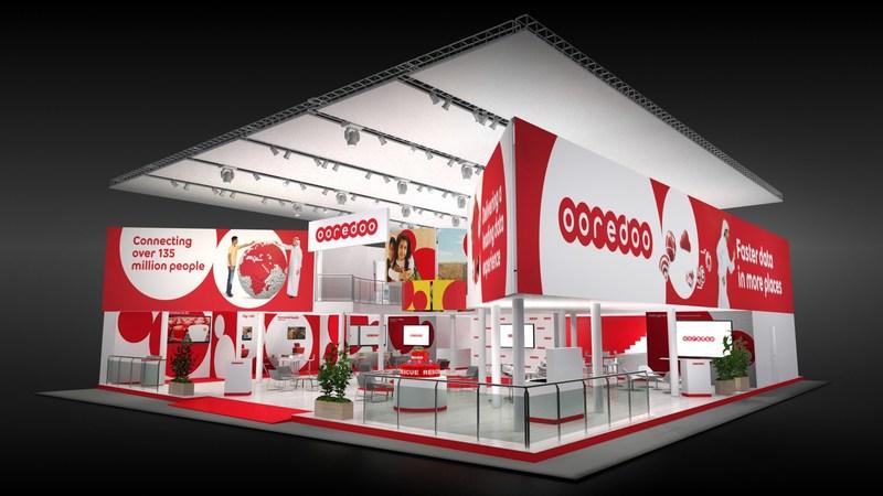 Ooredoo MWC 2017 Pavilion