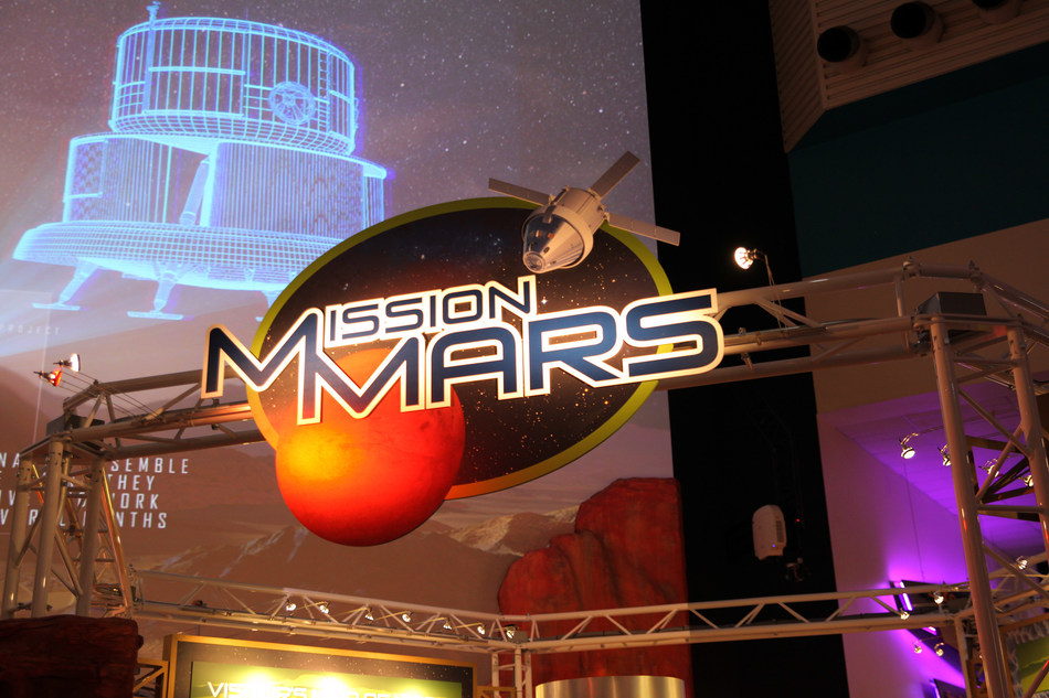 Mission Mars Exhibition at Space Center Houston