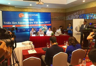 Aquaculture Vietnam 2017 Press Conference