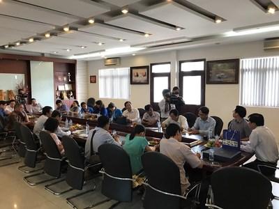 UBM and Press visit seafood processing facility