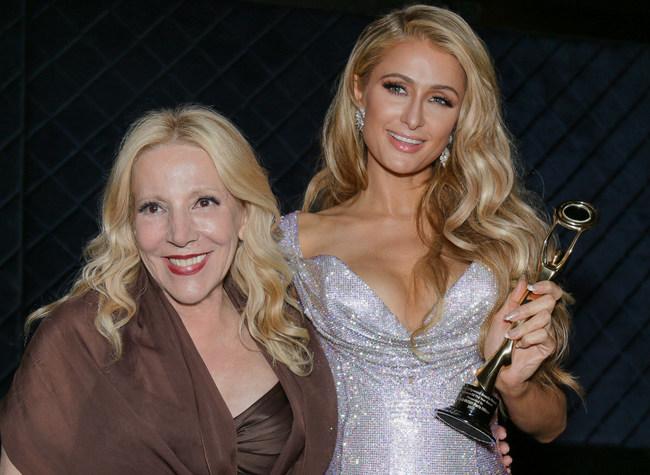 Hollywood Beauty Awards Founder & CEO Michele Elyzabeth & Paris Hilton