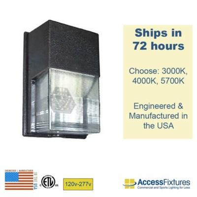 STAT 23w LED Wall Pack 120v-277v