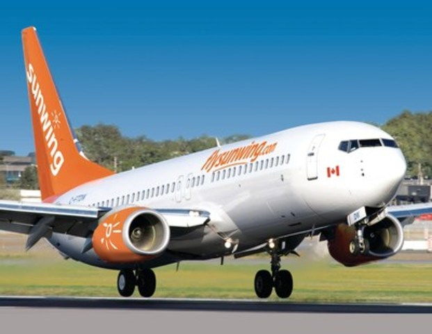 Sunwing Airlines (CNW Group/Sunwing Travel Group)