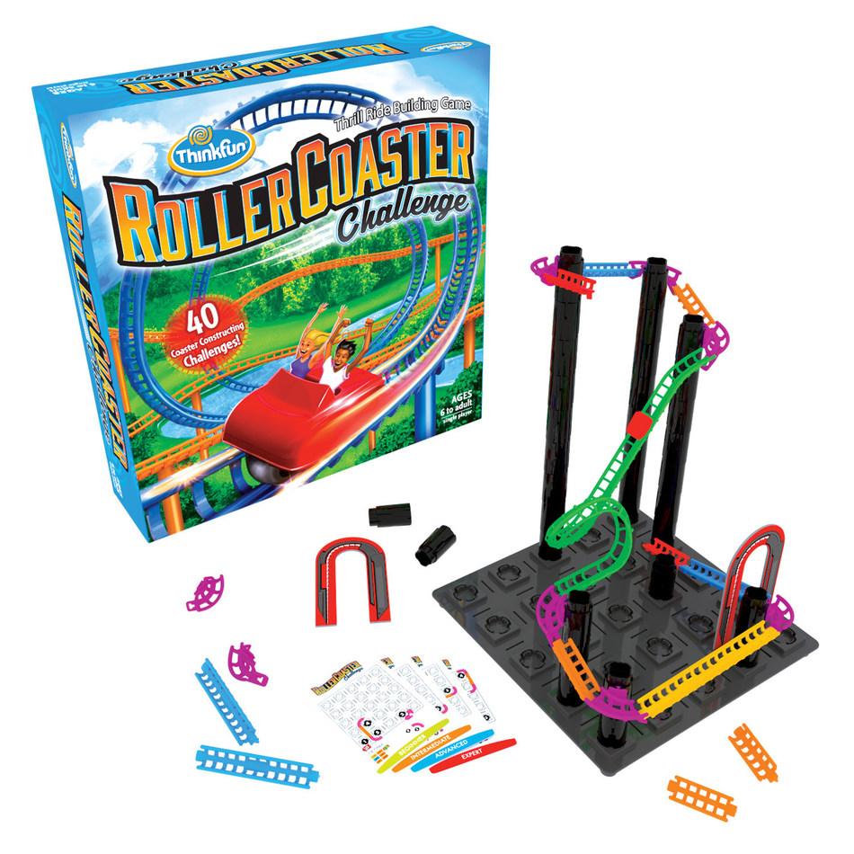 ThinkFun Announces Limited Edition Kickstarter Campaign For Roller Coaster Challenge