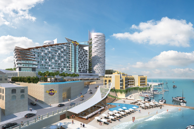 Official First Look at Hard Rock Hotel Malta