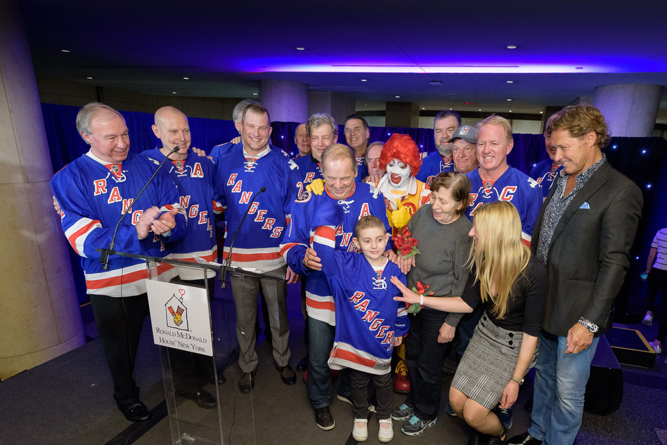 "23rd Annual ""Skate with the Greats"" Event Featuring Rangers Legends Raises More Than $800,000 for Ronald McDonald(R) House New York"