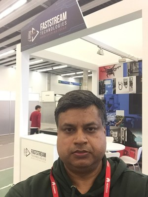Vinay Bansal, CEO of Faststream Technologies Private Limited at Mobile World Congress (PRNewsFoto/Faststream Technologies Private)