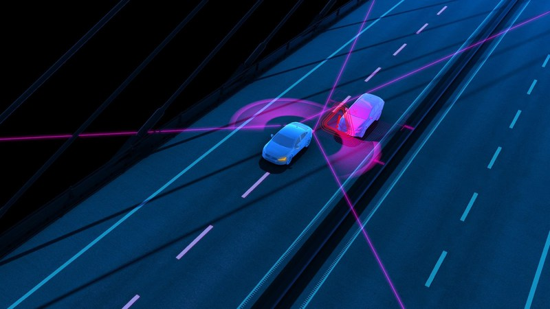Blind Spot Information (BLIS) with steer assist (PRNewsFoto/Volvo Car Group)
