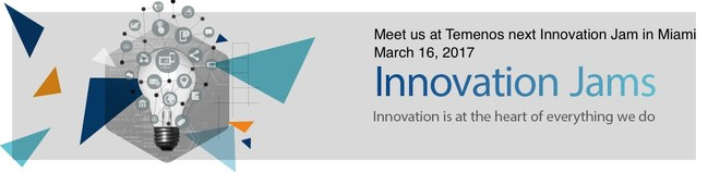 Meet Zuznow at the Temenos Innovation Jam in Miami and see how you can build your online banking omni-channel presence in a click!