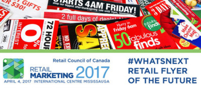 The Retail Flyer Makes a Comeback (CNW Group/Retail Council of Canada)