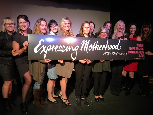 A former Expressing Motherhood cast