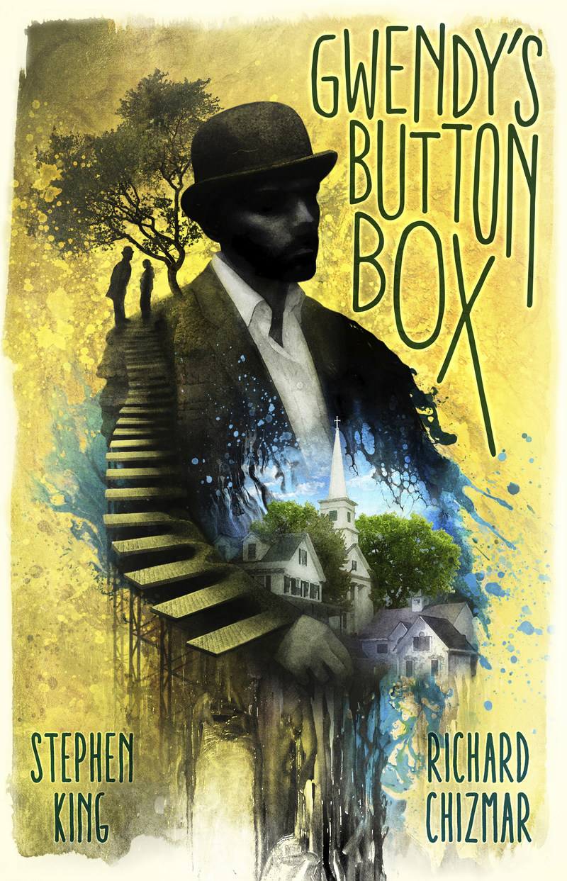 Gwendy's Button Box by Stephen King and Richard Chizmar cover artwork from Cemetery Dance Publications.
