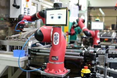 Rethink Robotics' Sawyer (PRNewsFoto/Rethink Robotics, Inc.)