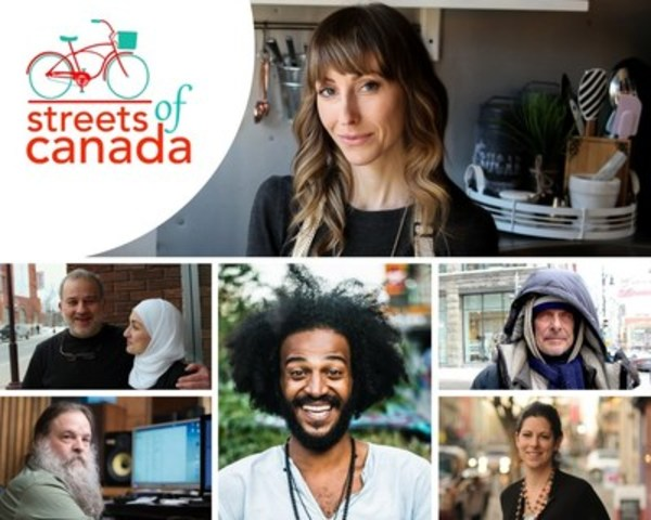 Streets of Canada captures stories of artists, entrepreneurs and unsung heroes from coast to coast in celebration of Canada's 150th. (CNW Group/Streets of Canada)