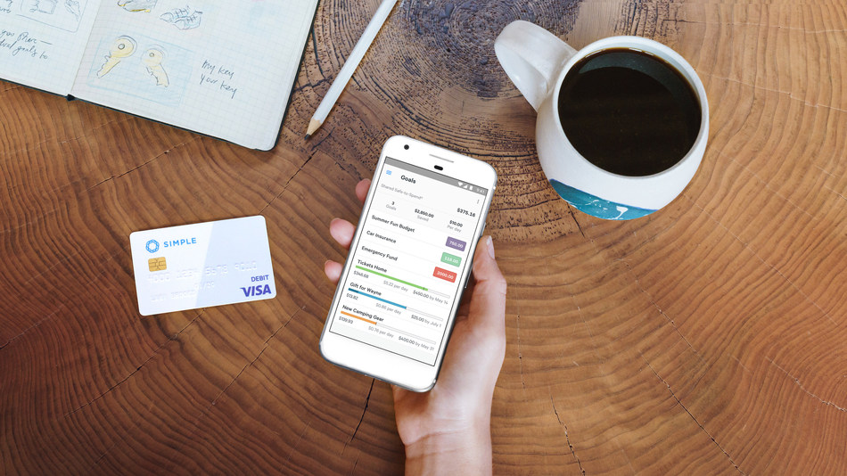 With Simple Shared accounts customers can budget and set savings goals right in their accounts. So that partners can spend, save, and do--together.