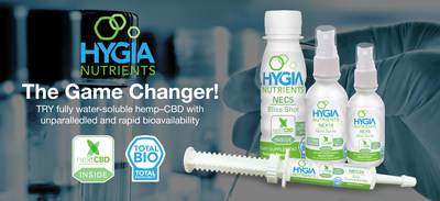 HYGIA Nutrients nextCBD Technology - The Game Changer