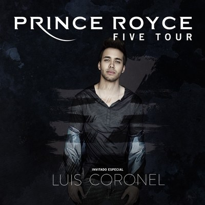 Prince Royce Announces The U.S. Leg Of His FIVE World Tour