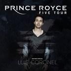 Prince Royce Announces The U.S. Leg Of His FIVE World Tour