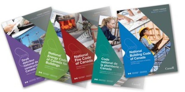 The 2015 editions of the Codes respond to the changing needs of Canadians and to new technologies, materials, and research. (CNW Group/National Research Council Canada)
